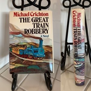 Michael Crichton-The Great Train Robbery